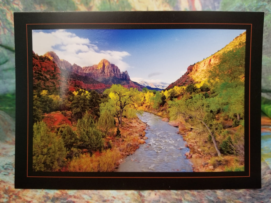 Easter Morning Zion Greeting Card