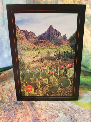 Watchman Zion Greeting Card