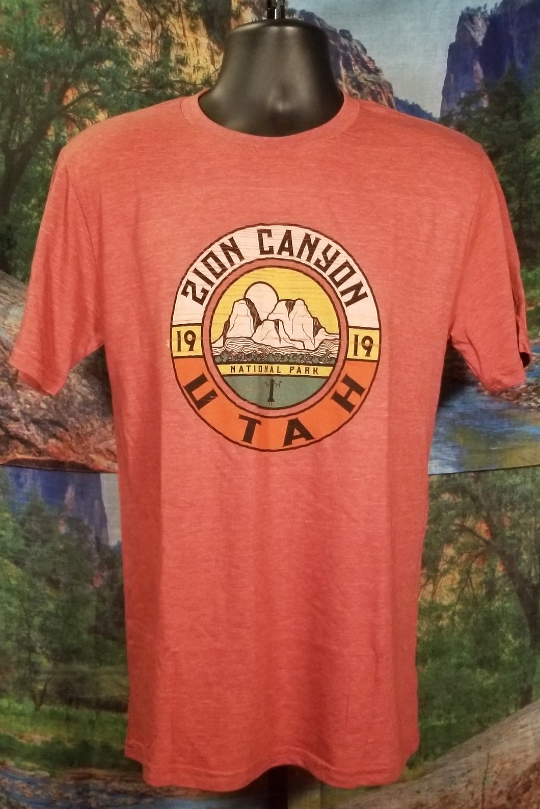 Zion Canyon Commemorative T-Shirt