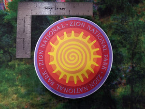 Zion Sun - Sticker