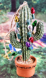 Cactus With Lights Ornament