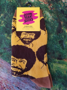 Bob Ross Flash Mob - Women Crew Sock