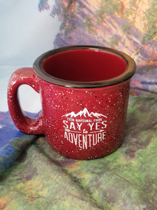 Say Yes to Adventure Zion Camp Mug