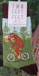 Drunk Sasquatch - Crew Socks