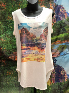 Zion Dreaming Women's Tank Top