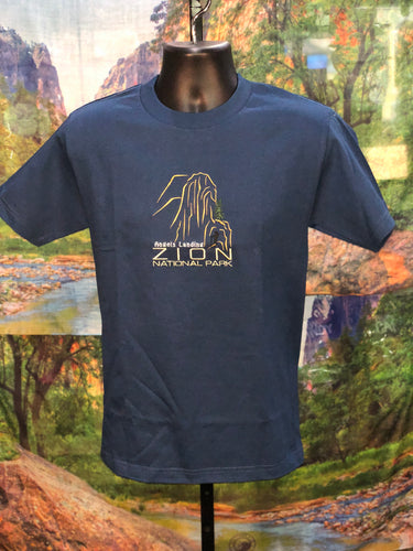 Angels Landing Embroidered T-Shirt