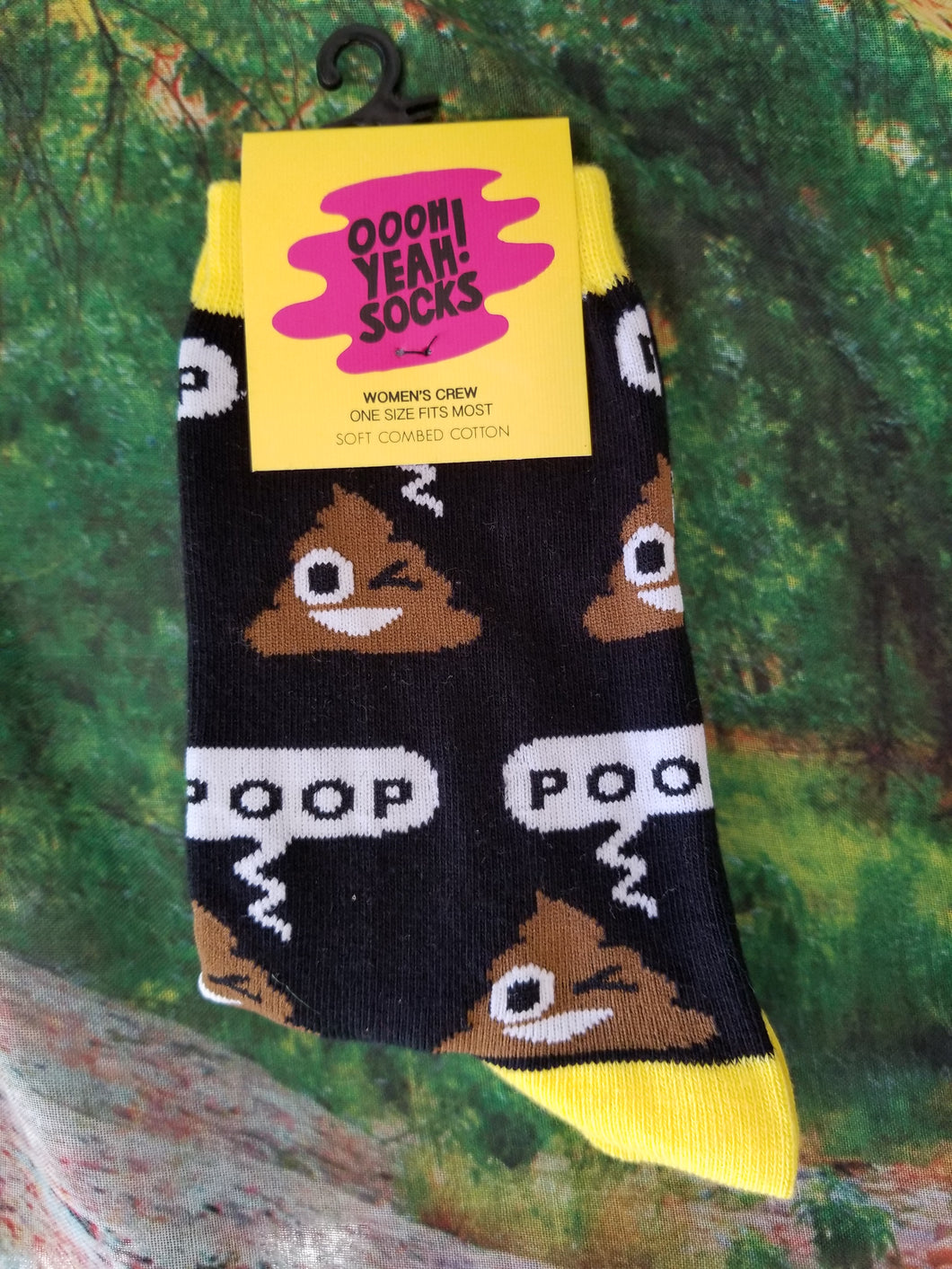 Poop! - Women's Crew Socks