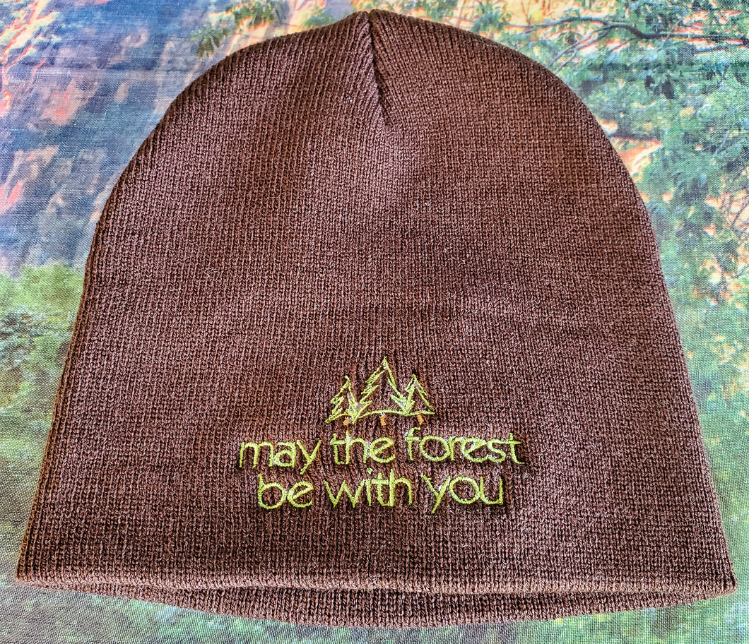 May the Forest Be With You Beanie