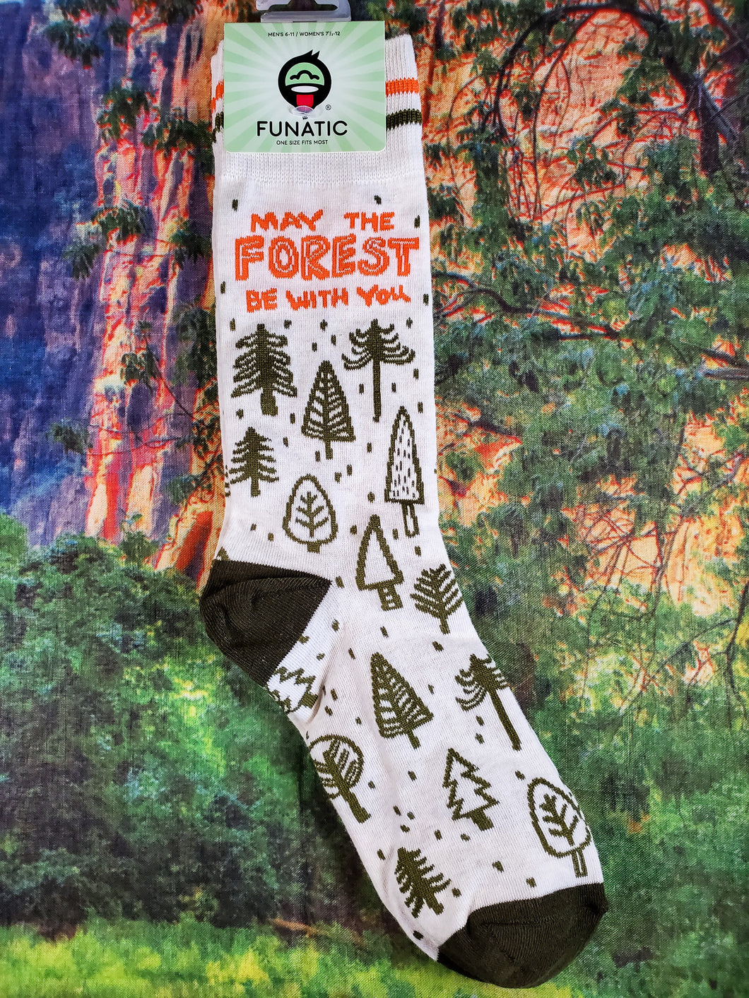 May The Forest Be With You - Crew Socks