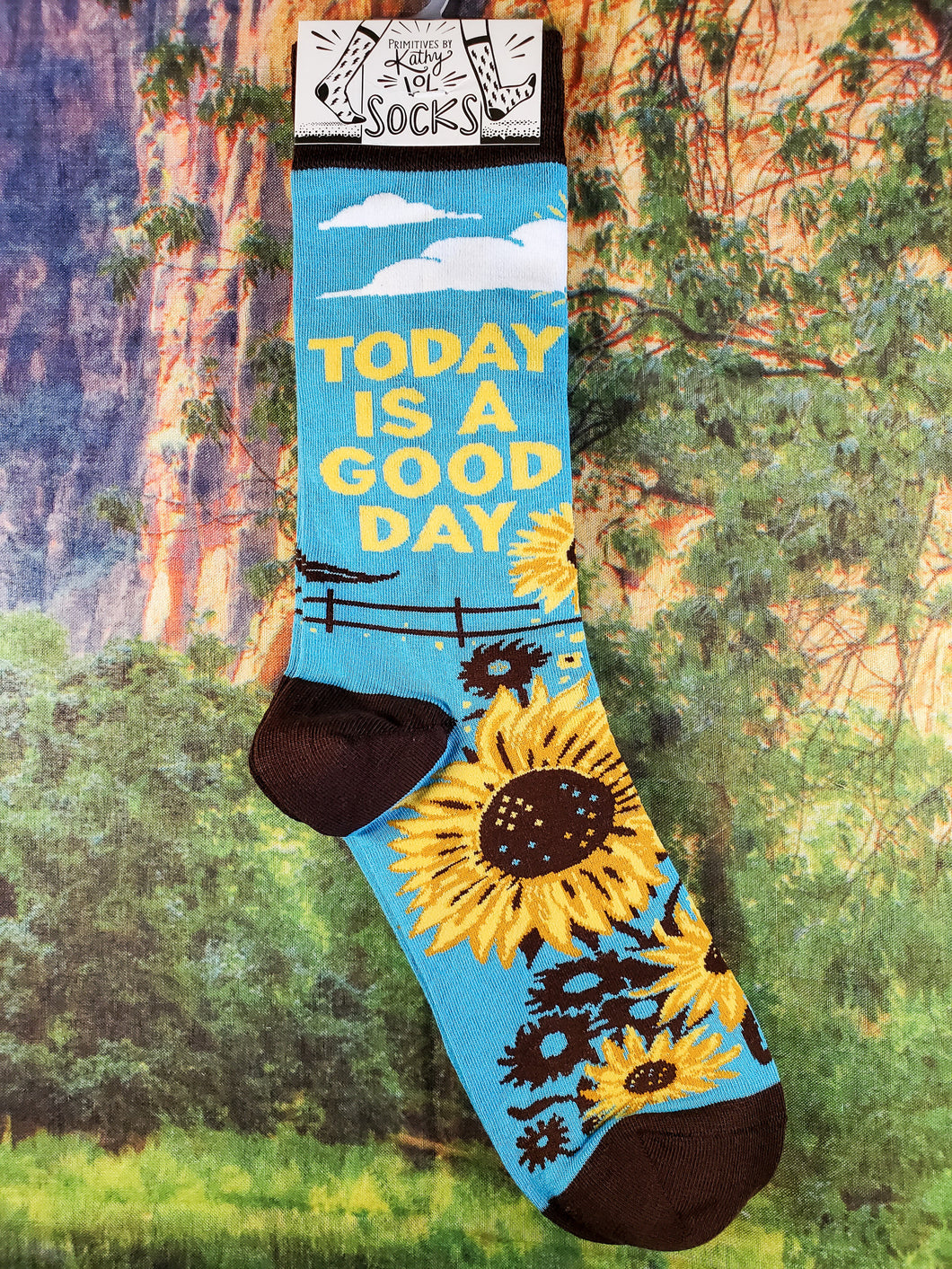 Today Is A Good Day - Crew Socks