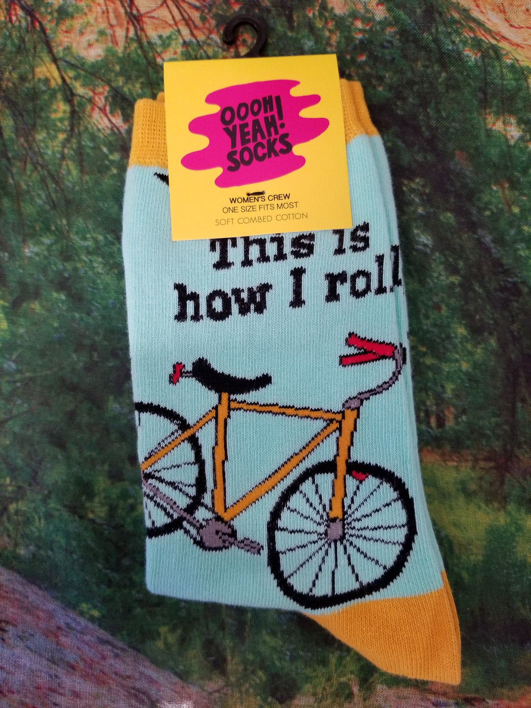 How I Roll - Women Crew Sock