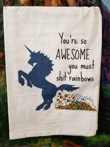 You're So Awesome Dish Towel