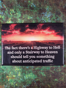 Highway to Hell - Magnet