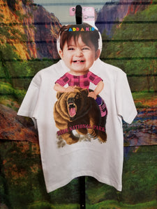 Grizzly Rider Add-A-Kid T-Shirt