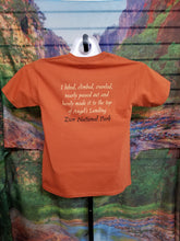 Hiked Angels Landing Youth T-Shirt