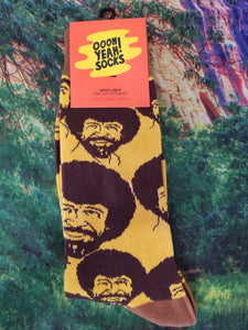 Bob Ross Flash Mob - Men's Crew Sock