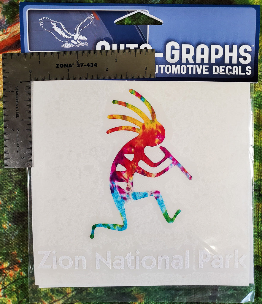 Kokopelli Runner Sticker