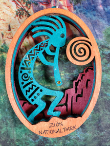 Kokopelli Mountain Ornament