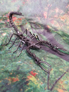 Scorpion Metal Art
