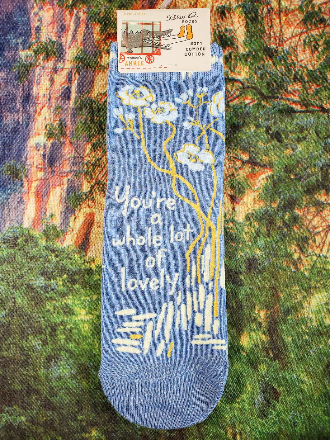 You're A Whole Lot of Lovely - Women's Ankle Socks