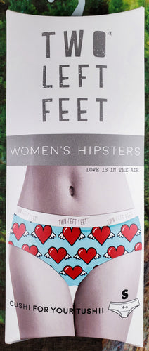 Love Is In The Air - Women's Hipster Underwear