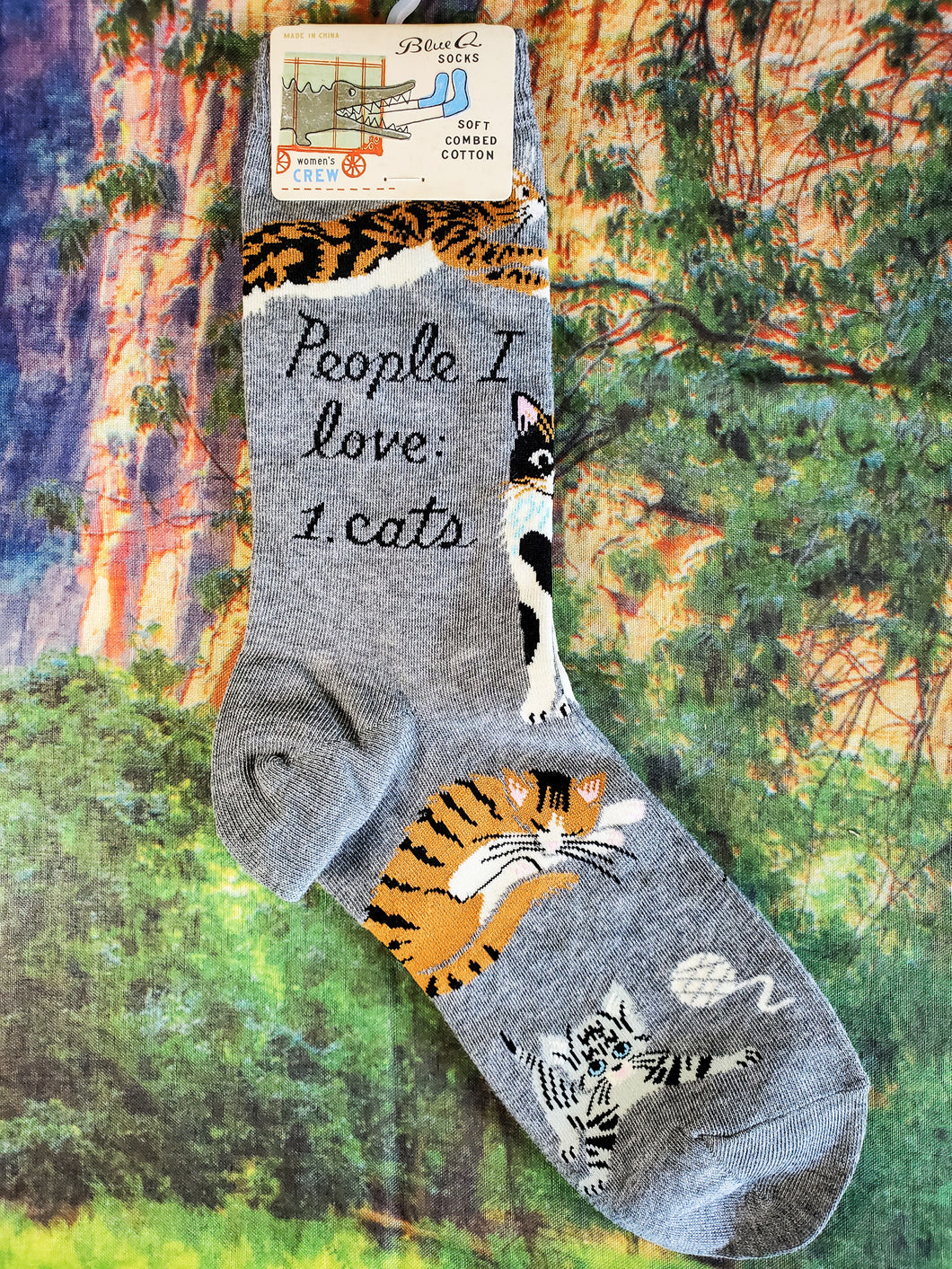 People I Love: Cats - Women's Crew Socks