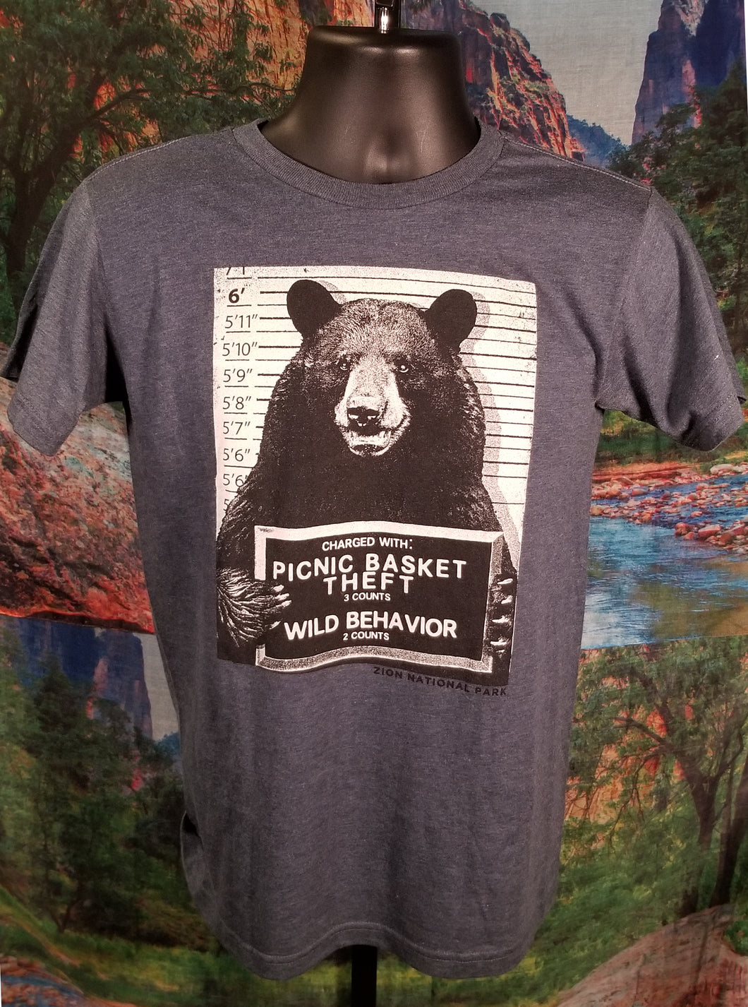 Mugshot Bear Shirt