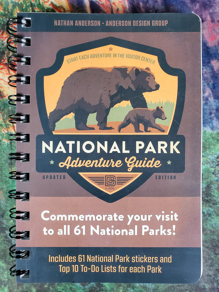 National Park Adventure Guide Book