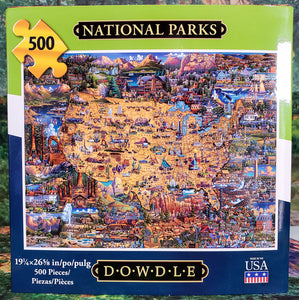 National Parks Dowdle Puzzle