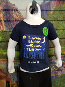 If I Don't Sleep Youth T-Shirt