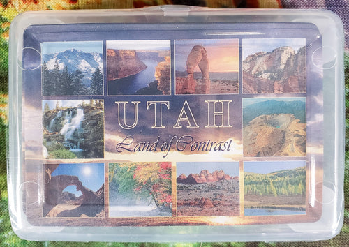 Utah Land of Contrast Playing Cards