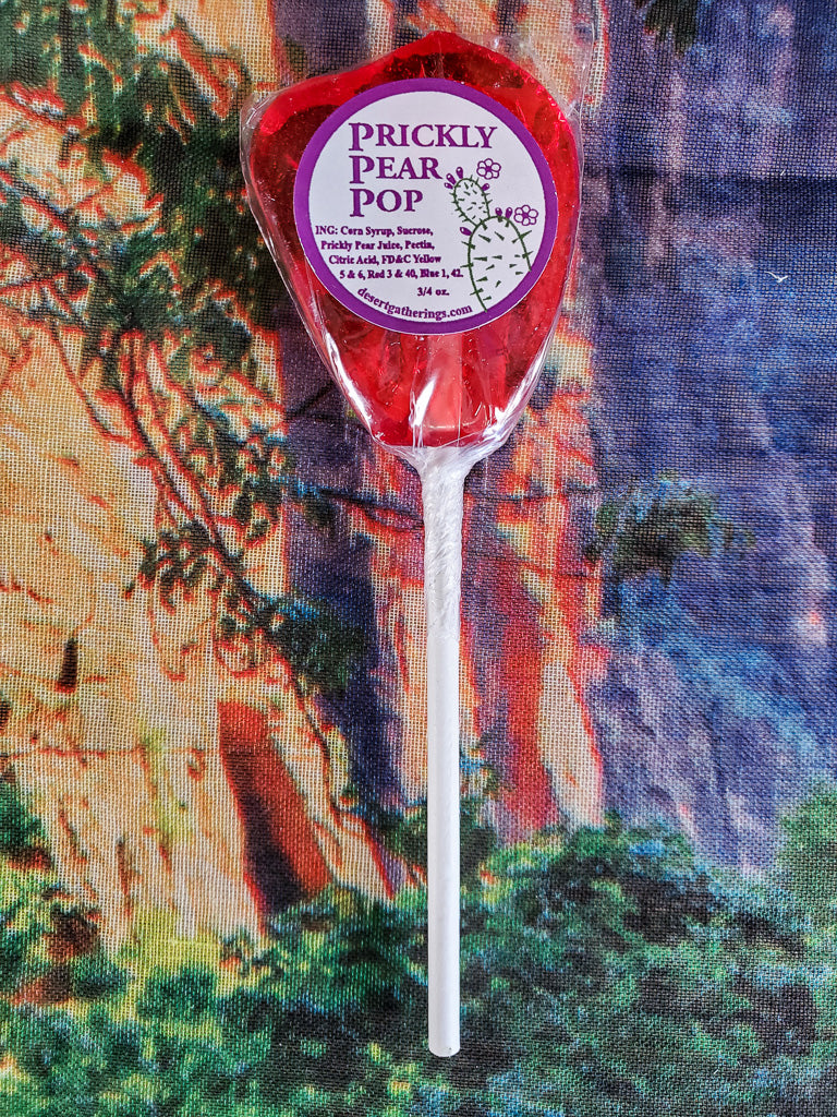 Prickly Pear Lollipop