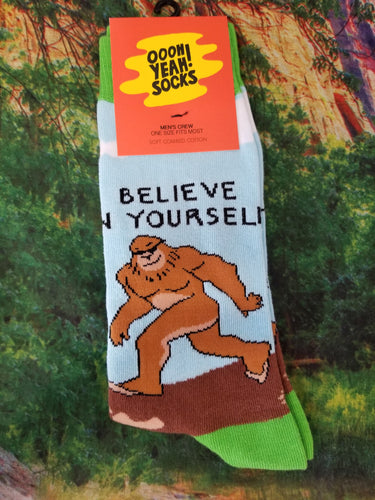 Believe In Yourself - Men's Crew Socks