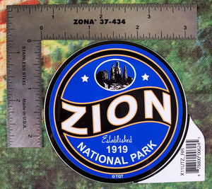 Redrock Zion Sticker