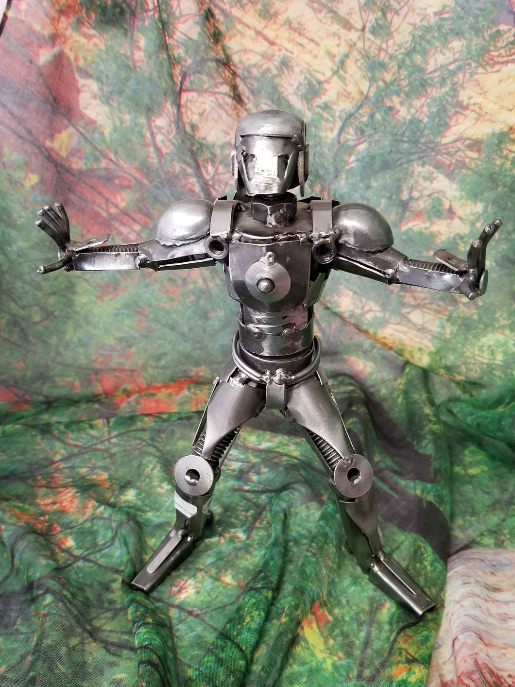 Ironman Metal Art