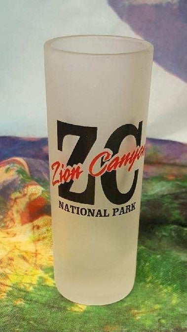 ZC Zion Canyon Shot Glass