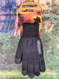 Touch-abled Stretch Wool Glove
