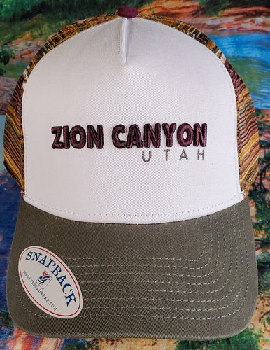 Sublimated Trucker Embroidery Hat