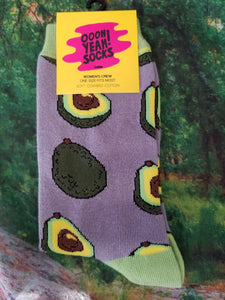 Avocado Life - Women Crew Sock