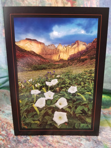 West Temple Zion Greeting Card