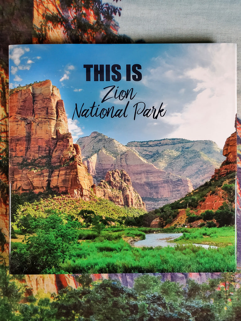 This is Zion National Park