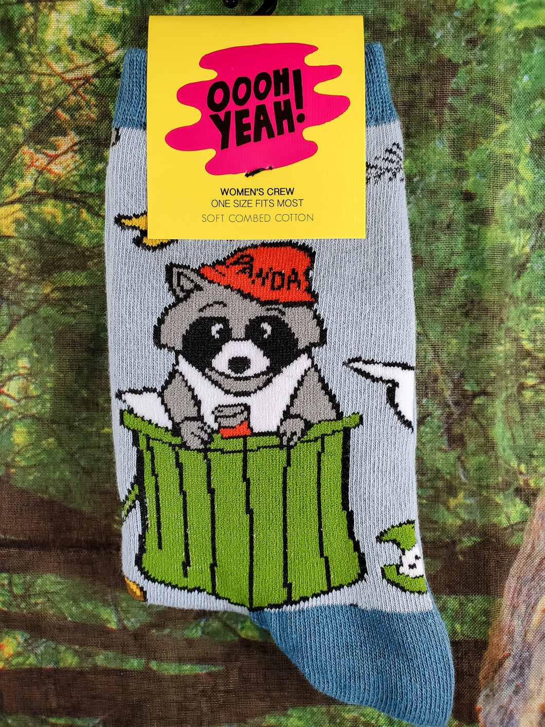 Trash Panda - Women's Crew Socks