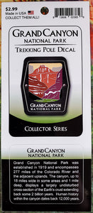 Grand Canyon Trekking Pole Decal