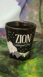 Black Ceramic Shot Glass