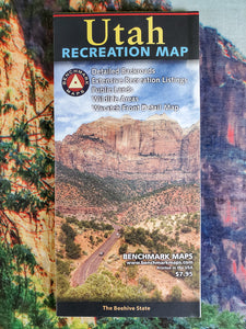 Utah Recreation Map