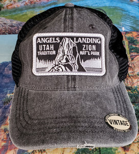 Vintage Angels Landing Hat