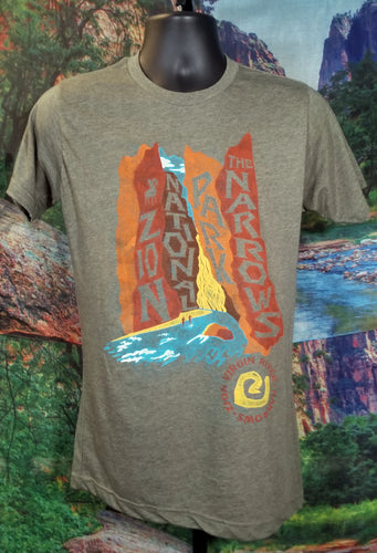 The Narrows Watercolor T-Shirt