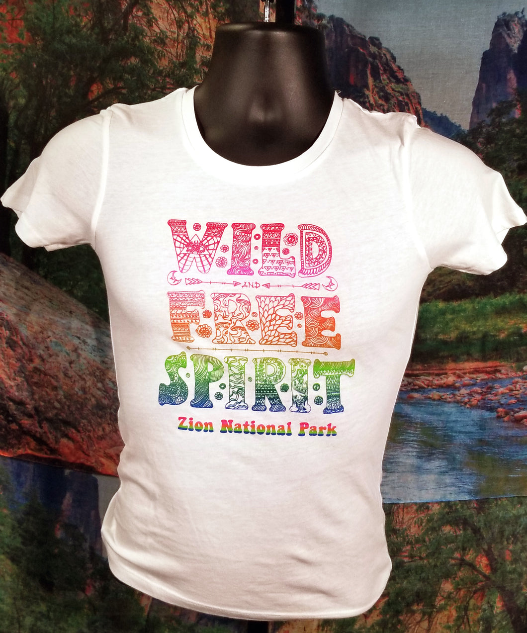 Wild Free Spirit Zion National Park T-Shirt