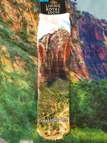 Zion National Park - Crew Socks