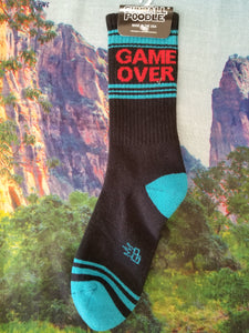Game Over - Gym Sock